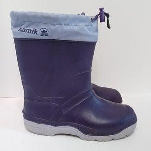 Kamik insulated rain winter boots